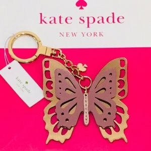 Kate Spade l Girls Butterfly Bag Charm  NWT